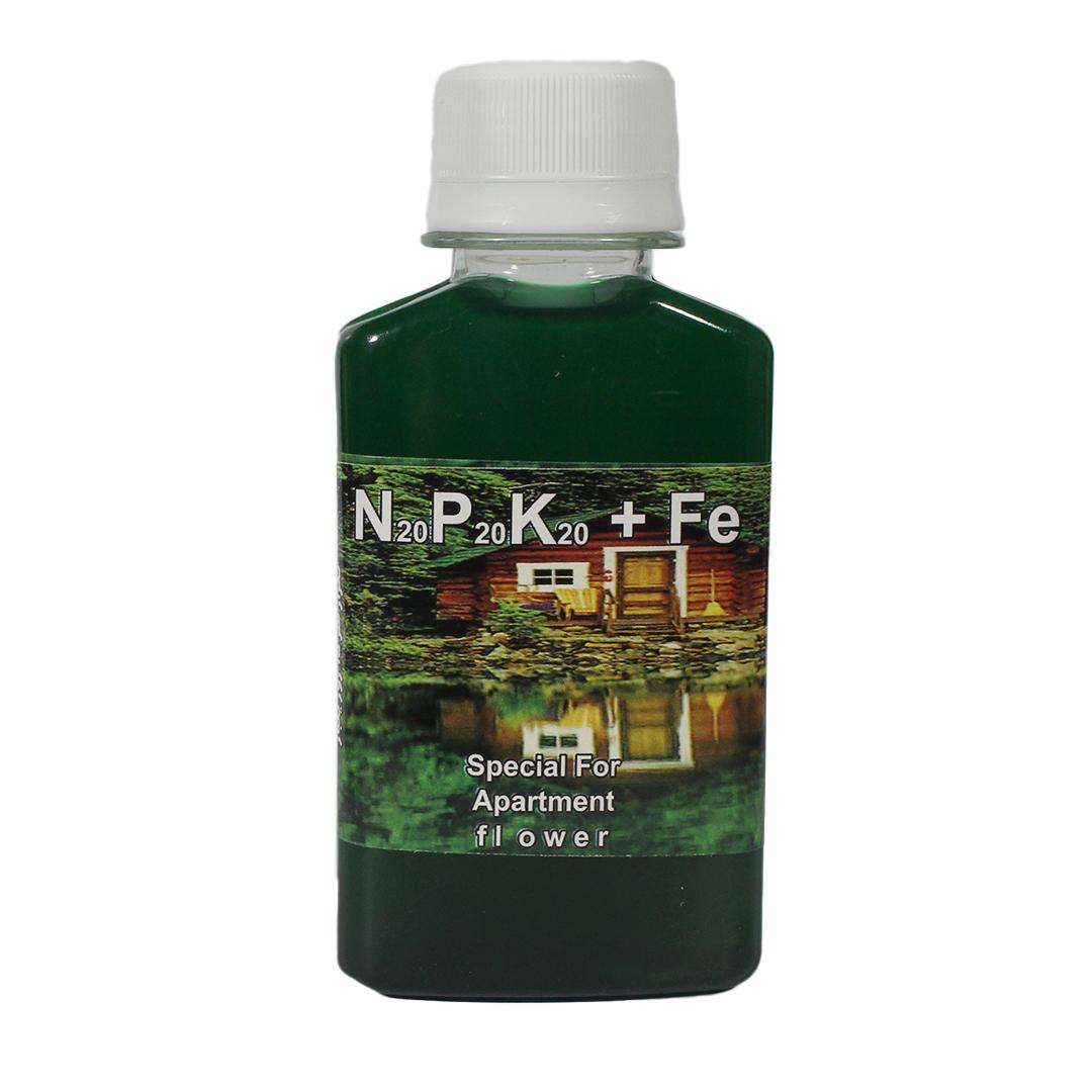 محلول سه بیست | NPK+Fe | نیتروژن، فسفر، پتاسیم + آهن